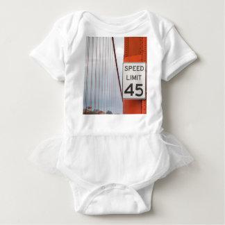 golden gate speed limit baby bodysuit