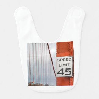 golden gate speed limit bib