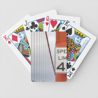 golden gate speed limit bicycle playing cards
