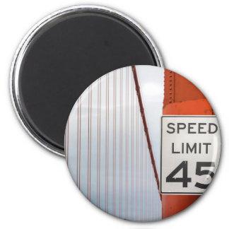 golden gate speed limit magnet