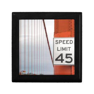 golden gate speed limit trinket box