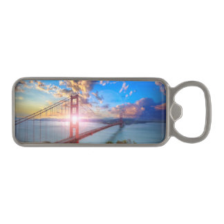 Golden Gate Sunrise Magnetic Bottle Opener