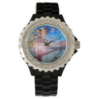 Golden Gate Sunrise Wrist Watch