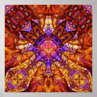 Golden Gateway Experiment 19 (12 by 12) Art Print