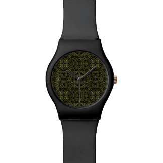 Golden Geo Tribal Pattern Watch