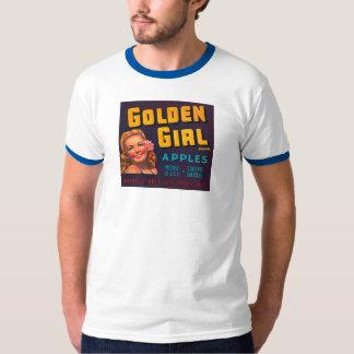 Golden Girl Brand Apples Vintage Advertisement T-Shirt
