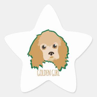 Golden Girl Sticker