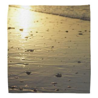 Golden Glassy Sand Bandana