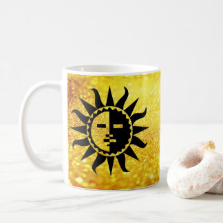 Golden Glitter and Zuni Sun Coffee Mug