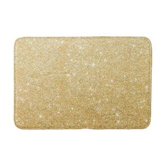 Golden Glitter Diamond Bath Mat