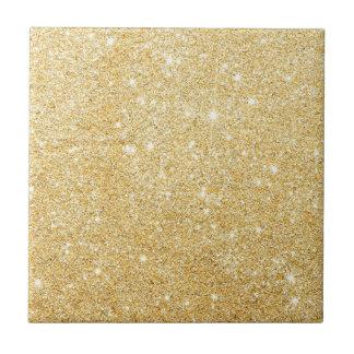 Golden Glitter Diamond Ceramic Tiles