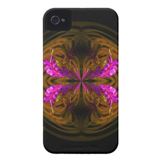 Golden globe flowers Case-Mate iPhone 4 case