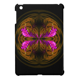 Golden globe flowers cover for the iPad mini