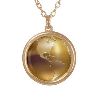 Golden Globe Necklace