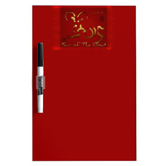 Golden Goat 2015 - Chinese and Vietnamese New Year Dry-Erase Whiteboards