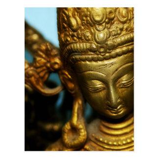 Golden Goddess Postcard