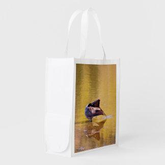 Golden Goose Reusable Grocery Bag