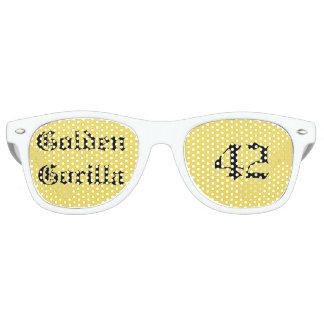 Golden Gorilla Glasses