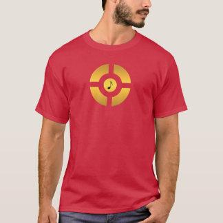 Golden Gospel Music Cross T-Shirt