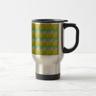 Golden Green Goodluck Dream Template + text image 15 Oz Stainless Steel Travel Mug