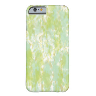 Golden Green Watercolor Abstract iPhone 6 Cases