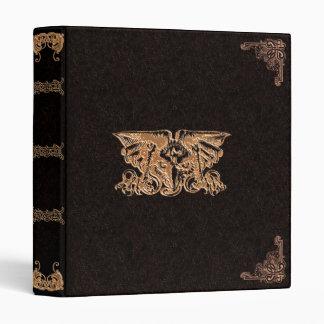 Golden Gryphon Elegant Gothic Binder