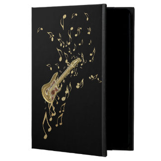 Golden Guitar n Notes Personalized iPad Air 2 Case
