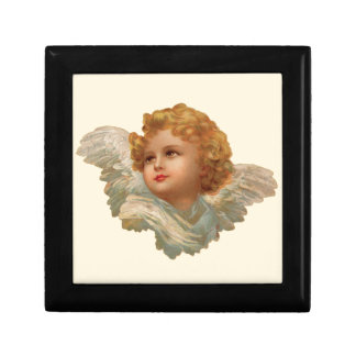 Golden Haired Cherub Gift Box
