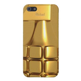 Golden Hand Grenade Case For iPhone 5/5S