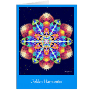 Golden Harmonics Card