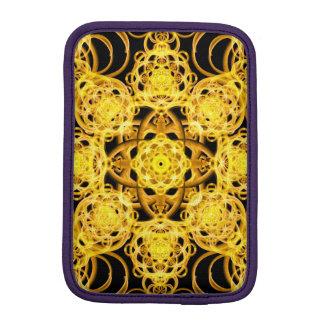 Golden Harmony Mandala iPad Mini Sleeves