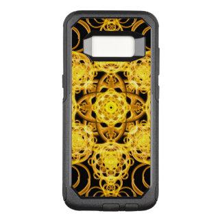 Golden Harmony Mandala OtterBox Commuter Samsung Galaxy S8 Case