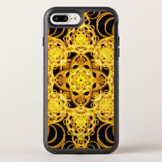 Golden Harmony Mandala OtterBox Symmetry iPhone 7 Plus Case