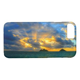 Golden Hawaiian Tropical Sunset Case-Mate iPhone Case