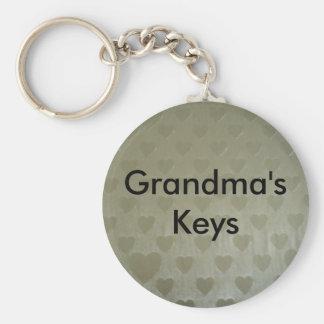 Golden Hearts Keychain