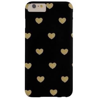 GOLDEN HEARTS PRINT FOR CELL PHONE CASE/COVER BARELY THERE iPhone 6 PLUS CASE