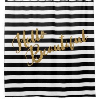 Golden Hello Beautiful Stripes