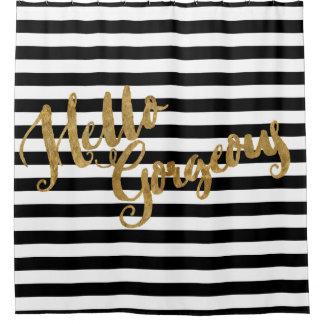 Golden Hello Gorgeous Stripes