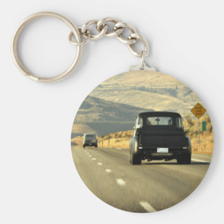 Golden Highway Keychain