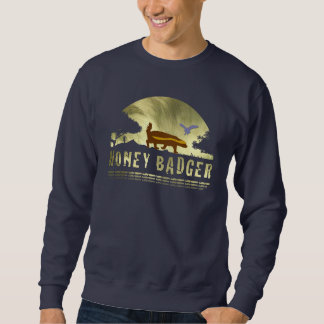 Golden Honey Badger Sun Sweatshirt