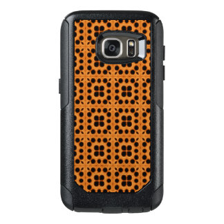 Golden Honeycomb Pattern OtterBox Samsung Galaxy S7 Case