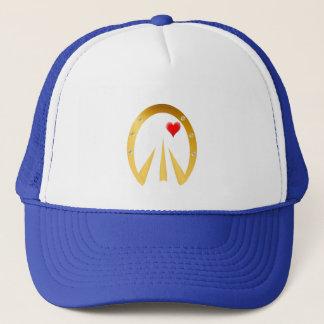 Golden Hoof Print Trucker Hat