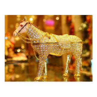 Golden Horse Postcard