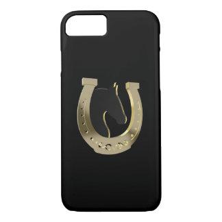 Golden horseshoe iPhone 7 case