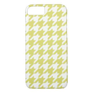 Golden Houndstooth 1 iPhone 7 Case