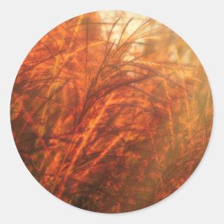 Golden Hour Round Sticker