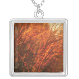 Golden Hour Silver Plated Necklace