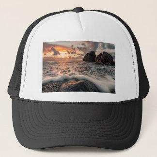 Golden hour trucker hat