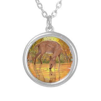 Golden Hours Silver Plated Necklace