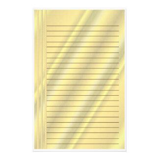 Golden Hues Stationery
